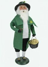 2020 Byers Choice St. Patrick'S Day Santa Pristine Condition Irish & Charming!