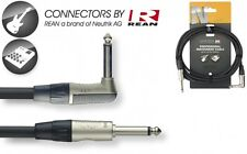 Klinke/ L - Klinke, Standard Instrumentenkabel mit Neutrik Stecker, 3m, DIS4