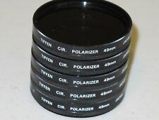 Lot of 5 49mm Tiffen CPL Circular Polarizer Excellent +++      #49m5st2