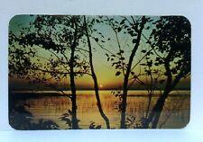 Midland Michigan Sunset Postcard