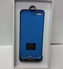 Urge Basic iPhone 5 Battery Case 2100 mAh Black and Blue