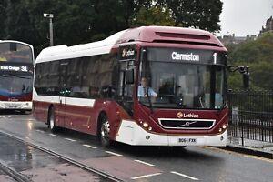 36 BG64 FXK Lothian Buses 6x4 Quality Bus Photograph