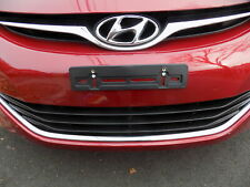 Front License Plate Tag Holder Mount Adapter Bumper Kit Bracket for HYUNDAI New