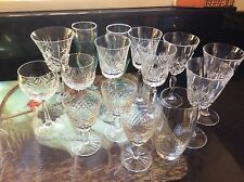 15 MIXED DRINKING & WINE GLASSES. UNUSED CONDITION