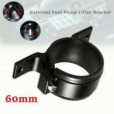 60mm Car External Fuel Pump Mounting Clamp Aluminum Bracket Filter Clamp Cradle