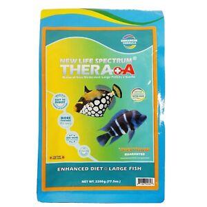 New Life Spectrum - Thera A Large Fish 2200gram Bag  3-3.5mm Sinking Pellets