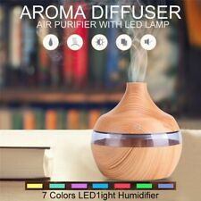 Electric Humidifier Air Diffuser Aroma Oil Light Up Bedroom Relaxing LED Light
