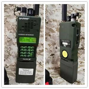 TCA/PRC-152A Standard Military Handheld Interphone Walkie Talkie FM Radio Mbitr