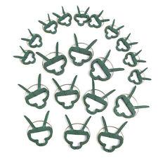 20 pièces Clips pour plantes tuteur clip plante collier lien