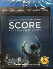 Score: A Film Music Documentary (Blu-ray, 2017) NEW SEALED