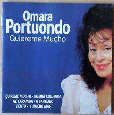 Omara Portuonda - Quiereme Mucho - CD