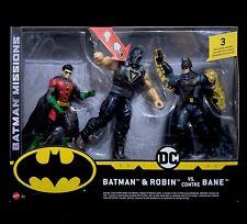 Batman e Robin Vs. Bane Mission Action Figure Mattel