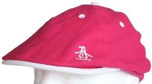 Original Penguin Munsingwear Hat Fitted Golf Cap - Teal Blue Fuchsia Pink Navy
