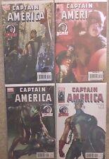 Captain America #602 #603 #604 #605 'Two Americas' Ed Brubaker Lot VF/NM Comic