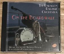 The Paragon Ragtime Orchestra cd On The Boardwalk Arthur Pryor Collection 1987