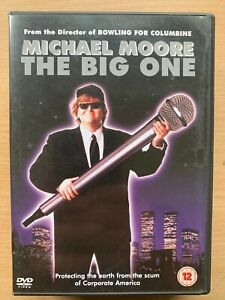 The Big One DVD 1997 Michael Moore big Business Corruption Documentary Movie