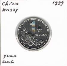 China 1 yuan 1999 UNC - KM337 (md074)