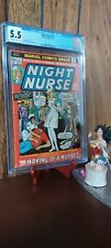Night Nurse #1 CGC 5.5 Marvel Comics CGC Disney Marvel Knights Moon Knight MCU