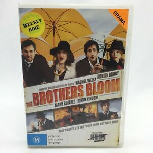 The Brothers Bloom (DVD, 2010) Region 4 With Mark Ruffalo In Very Good Condition