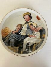 Vintage Norman Rockwell - Collector Plate - Home From the County Fair (Japan)
