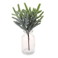 Pine Needle Leaf Artificial Flowers for Wedding Home Decoration Fake Flowers Hu