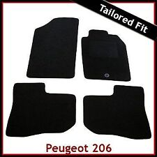 Peugeot 206 1998 - 2007 2008 2009 2010 1-Clip Tailored Fitted Carpet Car Mats
