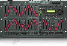 BEHRINGER EUROLIGHT LC2412 12 CHANNEL DMX LIGHT CONSOLE