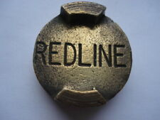 C1930S VINTAGE REDLINE PETROL BRASS 2 GALLON PETROL CAN CAP