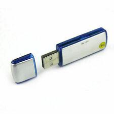 Voice Recorder Spy Spion Wanze Ton Sprach Aufnahmegerät Mini klein UsbStick A38