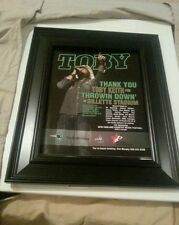 Toby Keith Gillette Stadium Rare Original Concert Promo Ad Framed Printed Once!