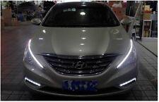Head light Chrome Molding 2Way LED Eyeline Lamp Light For 11~2014 Hyundai Sonata