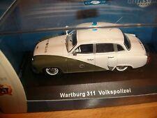 Wartburg 311  VoPo VP Volkspolizei DDR 1:43 IST CARS&CO limitiert 999 Stück WW