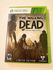 The Walking Dead -- (Microsoft Xbox 360, 2012) Video Games-Limited Edition