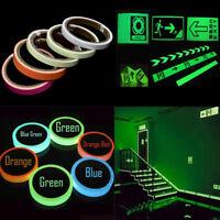 Self-adhesive Glow In The Dark Luminous Fluorescent Night Safety Sticker Tape CN