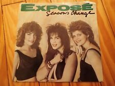 """EXPOSE """"SEASONS CHANGE / DECEMBER"""" 45 with picture sleeve"""