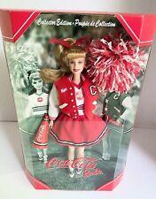 Coca-Cola Cheerleader Barbie, Collector Edition, Mattel, 2001, Nrfb,