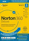 Original Sealed Norton 360 Deluxe 3 Devices PC/MAC/Mobile with Free Tracking