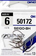Angelhaken Owner SEIGO-BH 50172 Karpfen Haken Wurmhaken Hacken