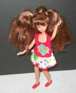 Vintage Doll Barbie Skipper Courtney COOL TOPS #7079 1989