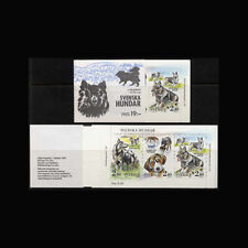 Sweden, Sc #1765, MNH, 1989, Booklet Cpl., Swedidh Kennel Club, Dogs, DO027F