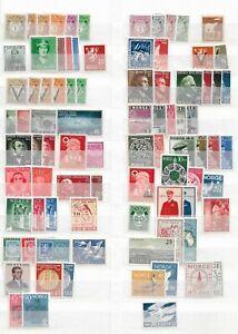 Norway - Collection MNH stamps - 5 scans