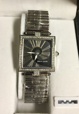 PIERRE CARDIN LADIES STAINLESS WATCH NEW PC67592.403011 Swarovski Crystals