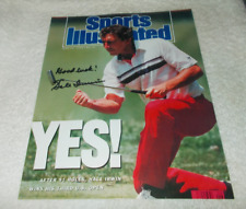 HALE IRWIN US OPEN CHAMPION SIGNED Sports Illustrated 8x10 Photo Autographed COA
