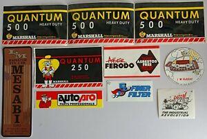 Bulk Automotive Stickers - Auto Pro Marshall Castrol Ferodo LM Radiator Cannon