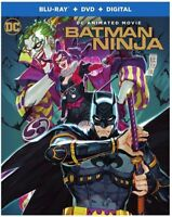 Batman Ninja [New Blu-ray] With DVD, UV/HD Digital Copy, 2 Pack, Digital Copy