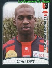 OLIVIER KAPO FRANCE US.BOULOGNE Celtic.FC UPDATE STICKER FOOT 2010 PANINI