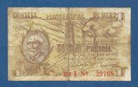 CONSELL MUNICIPAL DE REUS -- 1 PESETA JULIO ( 1937 ) - BC - SERIE B - 2ª EMISION