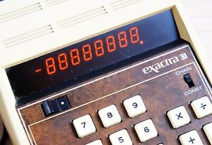 Calculatrice Texas Instruments Exactra 31