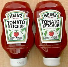 2 Pack, Heinz Tomato Ketchup Original 32 oz FREE SHIPPING