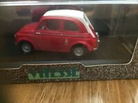 DieCast Fiat Abarth 695 ss 1964 - (Car Size) 7 x 3 x 3 cm - Excellent Condition